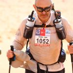 Robin running the Marathon des Sables