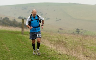 Robin training for the Marathon des Sables