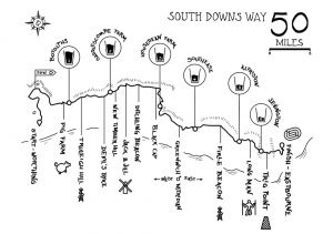 fitness challenge south downs ultra marathon