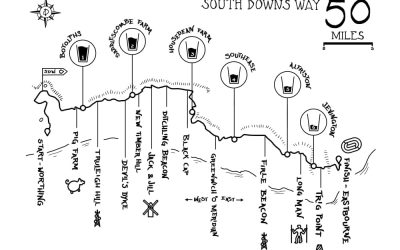 50 mile running race south downs way